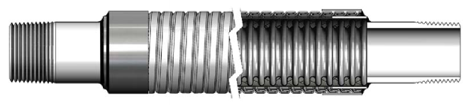 guarded_metallic_hose_assembly Manguera de metal flexible especial - Fabricante de mangueras flexibles | Hengshui Ruiming