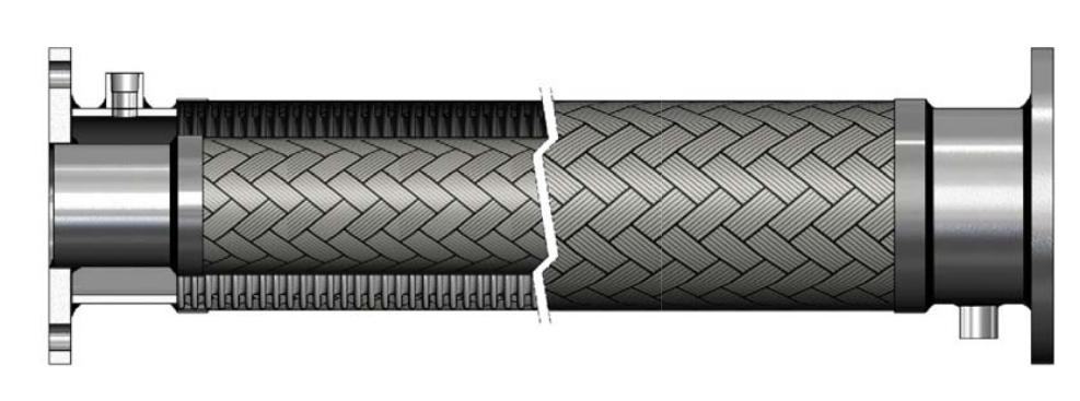 metallic_jacket_hose Manguera de metal flexible especial - Fabricante de mangueras flexibles | Hengshui Ruiming
