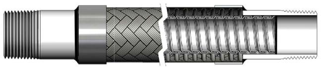metallic_lined_assembly Manguera de metal flexible especial - Fabricante de mangueras flexibles | Hengshui Ruiming